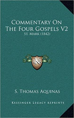 Commentary on the Four Gospels V2: St. Mark (1842)