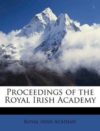 Download Proceedings of the Royal Irish Academy Volume 1 ebook