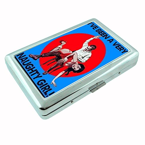 sw-081 Naughty Girl Cheesecake Cigarette or ID Case Pin ()