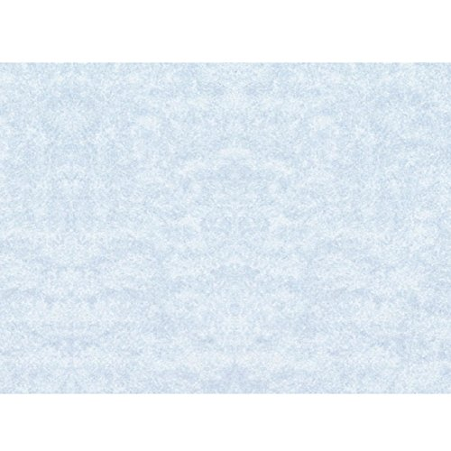 Colonial Cards: 150 Color Cardstock 3'' x 4'' Blank Cards, Blue Parchment by Colonial Cards