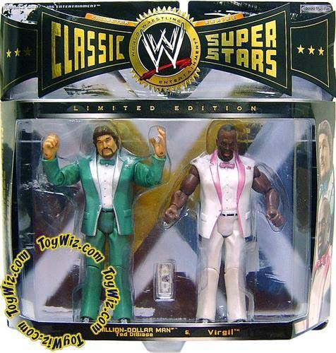 World Wrestling Entertainment WWE CLASSIC SUPERSTARS 2 PACK - MILLION-DOLLAR ...