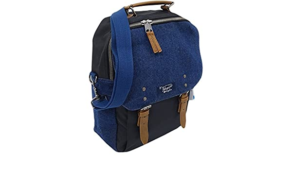 ed5d257fe096 Amazon.com  Mens Bags Original Penguin Rucksack Bag - School   Work   Gym  Holdall BackPack Chambray Dark Sapphire  Clothing
