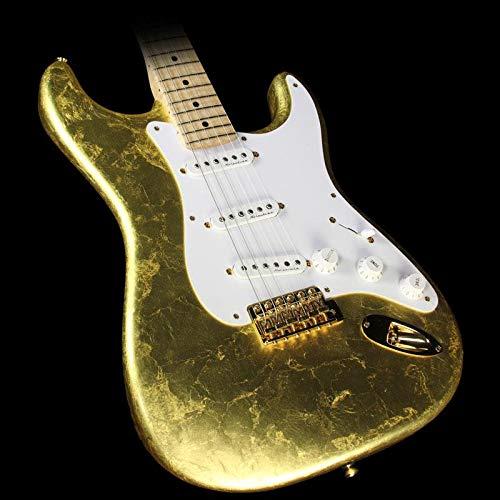 Fender Custom Shop Eric Clapton Stratocaster Masterbuilt Todd Krause Gold Leaf