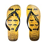 Havaianas Unisex Batman Sandals (41-42 Bra, Banana Yellow)