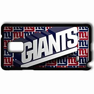 Personalized Samsung Note 4 Cell phone Case/Cover Skin 1591 new york giants Black