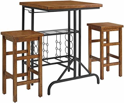 Crosley Furniture Sienna 3-Piece Casual Dining Set