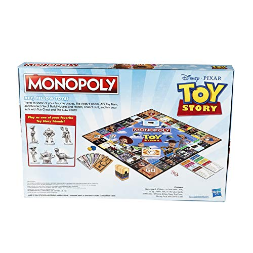 51%2B9oJCjpZL - Monopoly Toy Story Board Game Family and Kids Ages 8+