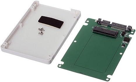 Tarjeta Micro Sata SSD Cablecc de 4,5 cm y 16 pines a carcasa de ...