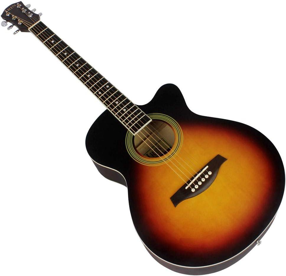 BLKykll Guitarra Acústica De 40 Pulgadas,Guitarra Española Clásica ...