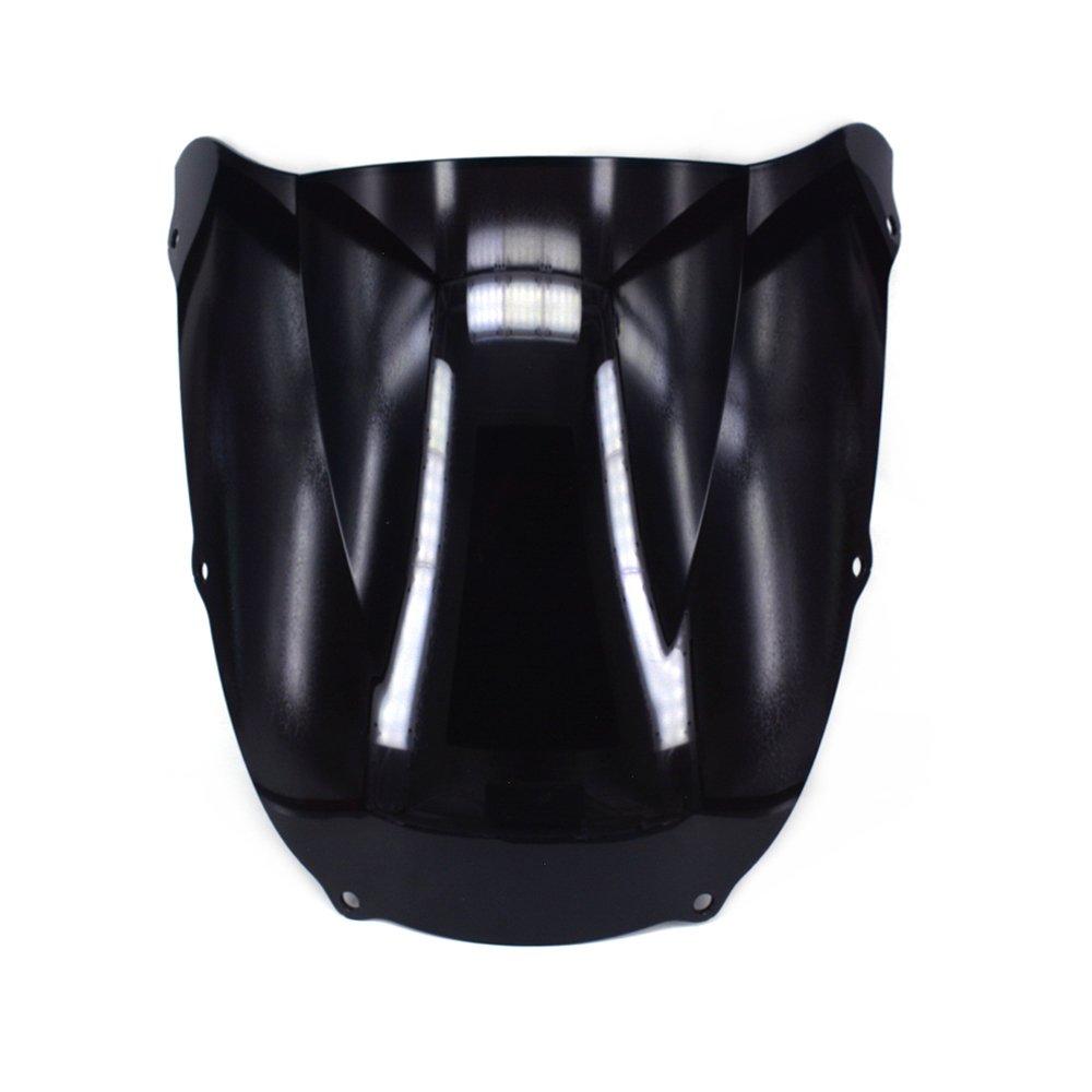 É cran de pare-brise de pare-brise double bulle pour Kawasaki Ninja ZX12R 2002-2005 Fast Pro