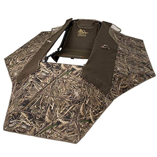 ALPS OutdoorZ Delta Waterfowl Zero-Gravity Layout Blind, Realtree MAX-5