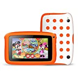 Tecwizz 7 Inch Kids Tablet PC with Special Case (Quad Core, 1GB & 8GB, HD, Google Android 5.1, WIFI Enabled) + Specially Designed Case With Stand (Orange)