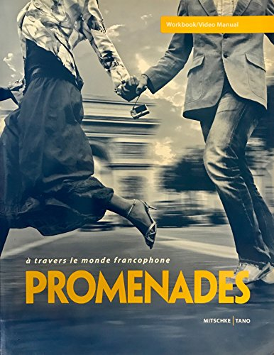Promenades: A Travers Le Monde Francophone (Workbook Lab Manual)