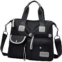 harayaa Ladies Bag Cross Body Messenger Bag Student Bookbag Tote Shoulder Up