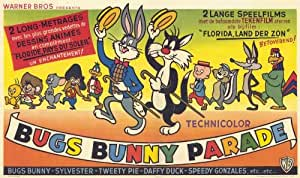 Bugs Bunny Parade Poster Movie Belgian 11x17