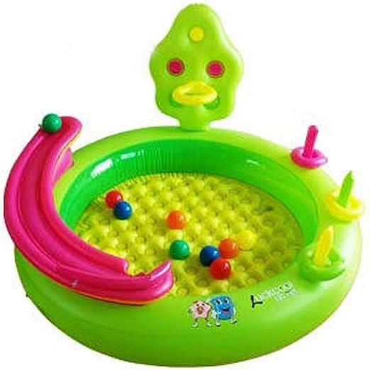 Pool- Juego de Billar Inflable para niños Piscina de Juguete 125 ...