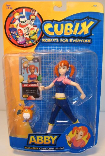 Cubix Robots For Everyone Toys : Cubix abby dondon action figure buy online in uae