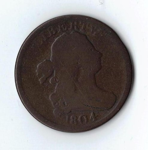 Half Cent Coin - 1793-1857 US Half Cent