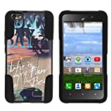 Best Phone Cases For Huawei Ravens - MINITURTLE Case Compatible w/Huawei Raven LTE Cover, Dual Review