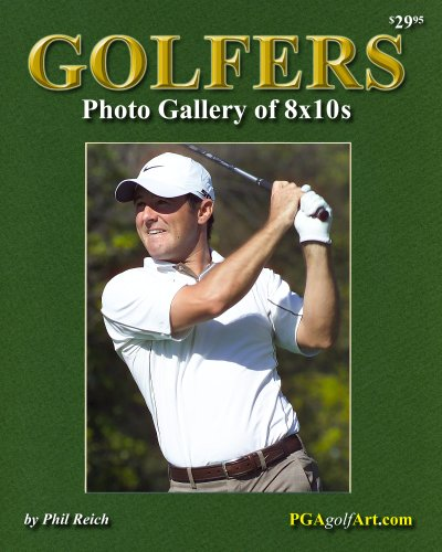 Golfers Photo Gallery of 8x10s