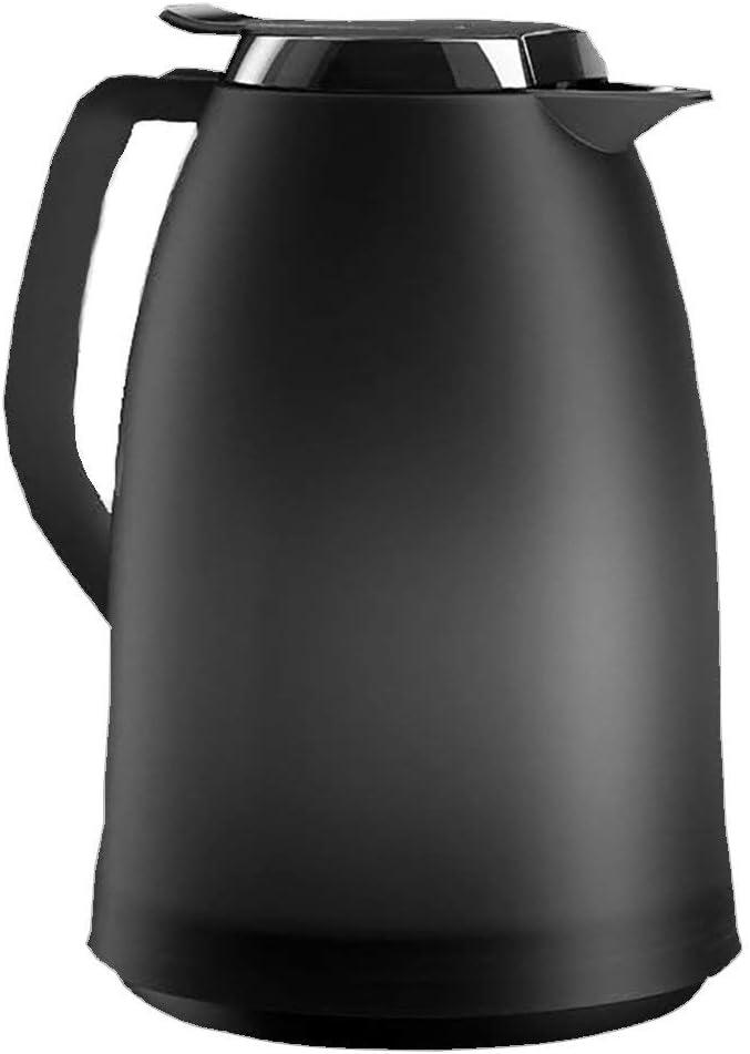 Emsa Mambo 514978 Jarra Térmica, 1.5 L, Plástico, Negro