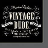 Creative Converting 16 Count Vintage Dude Lunch Napkins