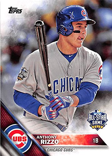 Anthony Rizzo Baseball Card Chicago Cubs World Series Champion 2016 Topps Us281 All Star Game