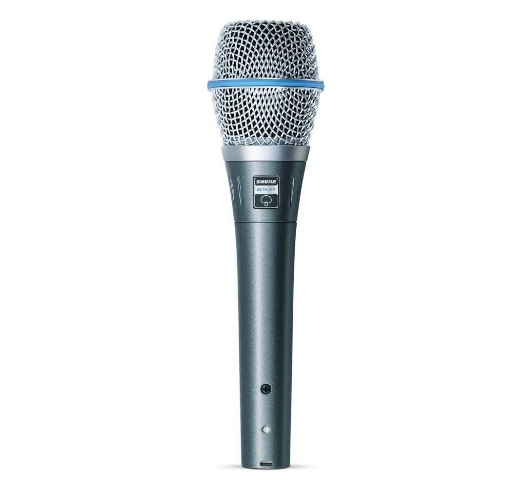 B0002BACBO Shure BETA 87A Supercardioid Condenser Vocal Microphone 512B9t21DsPL