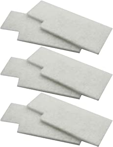 6 Pack Hoover WindTunnel Secondary Filters Fit Tempo Widepath and Fold Away Vacuum Cleaners 38765-019 38765019 38765023