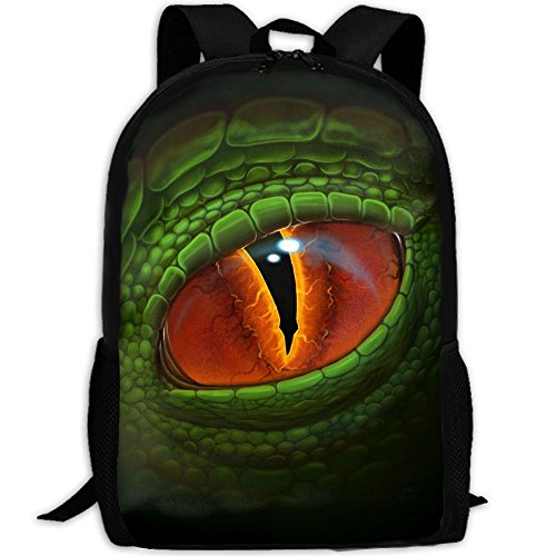 Terrible Green Eyes Interest Print Custom Unique Casual Backpack School Bag Travel Daypack - Sunglasses Terrible