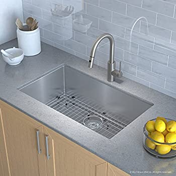 Kraus KHU100-30-2620-41SS Kitchen Sink and Faucet Combo ...