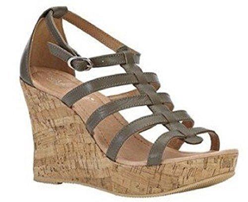 Best Connections Sandalette - Sandalias de vestir de material sintético para mujer marrón - pardo