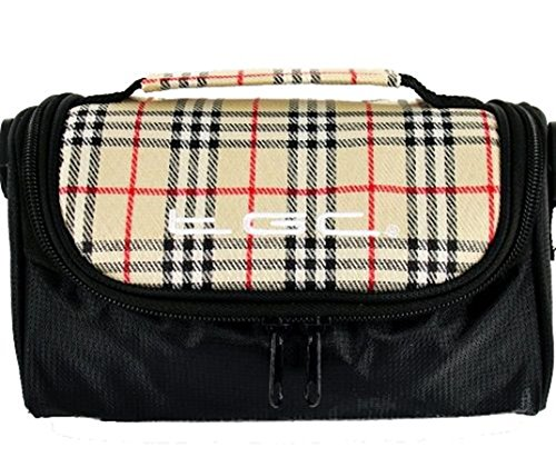 Black with TGC al Crimson Hombro Bolso Red amp; Cool Chinazo Check White Trims para Jet Blanco Mujer 81pF8a