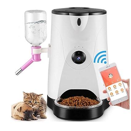 ZY Mascota Perro Perro Comida para Gatos Comida para Perros Máquina De Alimentación Monitor Temporizador Alimentador