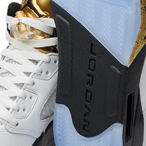 Air Jordan 5 Retro Gold Olimpionico - 136027-133 - Taglia 15