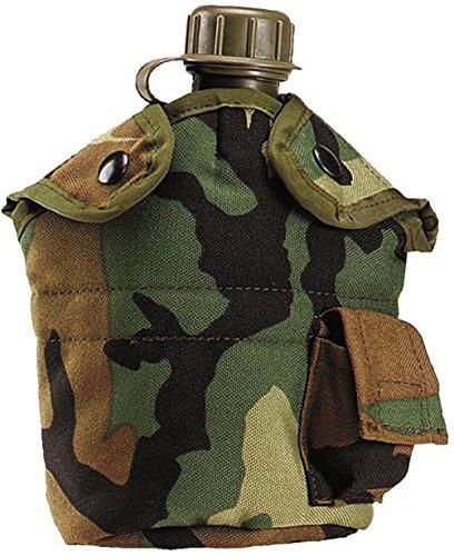 New Military Style Enhanced Nylon Cordura 1 Qt Canteen Cover ()