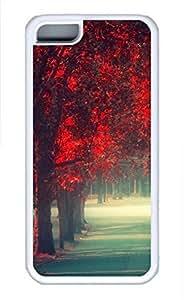 iPhone 5c case, Cute Walking Alone iPhone 5c Cover, iPhone 5c Cases, Soft Whtie iPhone 5c Covers by icecream design