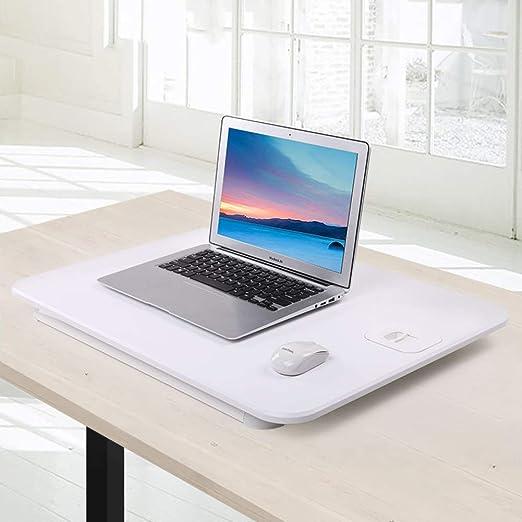 Mesa portátil Plegable,Mesa para Ordenador, Base Ajustable y ...