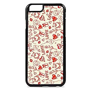 Case Fun Case Fun Love and Kisses Snap-on Hard Back Case Cover for Apple iPhone 6 4.7 inch by ruishername
