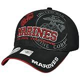 United States USMC Marine Corps Few Proud Velcro Constructed Bulldog Hat Cap