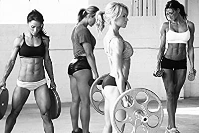 Bodybuilding Fitness Motivational Hot Girls Gym Poster