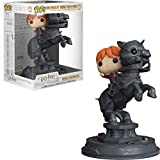 Funko 35518  Movie Moment: Harry PotterRon Riding Chesspiece, Multicolor