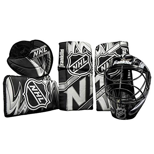 Franklin Sports 12436  NHL Mini Hockey Goalie Equipment with Mask Set