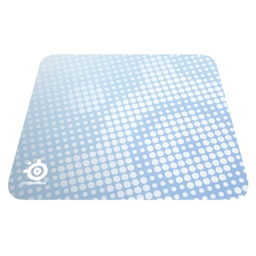 (SteelSeries QcK Gaming Mouse Pad (Frost Blue))