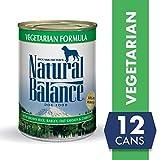 Image of Natural Balance Vegetarian Formula Wet Dog Food, 13 Ounces (Pack of 12), Vegan