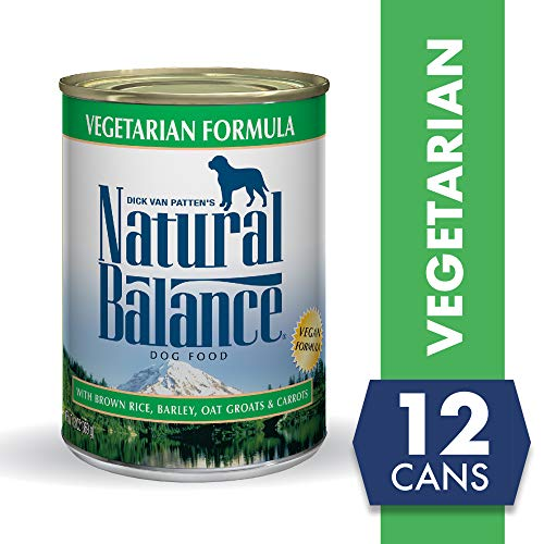 Natural Balance Vegetarian Formula Wet Dog Food, 13 Ounces (Pack of 12), Vegan