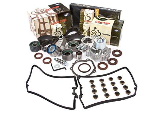Evergreen TBK328MVC 02-05 Subaru Impreza WRX Turbo 2.0 DOHC EJ20 Timing Belt Kit Valve Cover Gasket GMB Water Pump