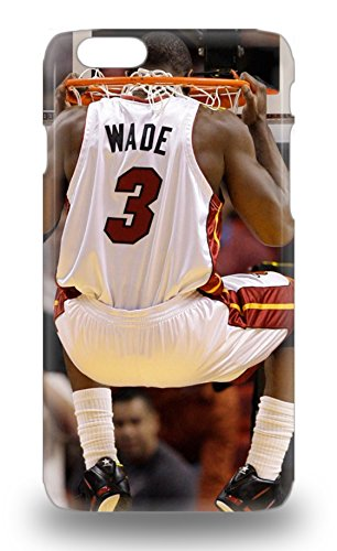 Iphone Slim Fit Tpu Protector NBA Miami Heat Dwyane Wade #3 Shock Absorbent Bumper 3D PC Case For Iphone 6 ( Custom Picture iPhone 6, iPhone 6 PLUS, iPhone 5, iPhone 5S, iPhone 5C, iPhone 4, iPhone 4S,Galaxy S6,Galaxy S5,Galaxy S4,Galaxy S3,Note 3,iPad Mini-Mini 2,iPad Air )