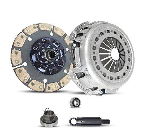 Puck Clutch Solid Disc - Clutch Kit Ram 2500-5500 Dodge Ram 2500-3500 St Slt Laramie 2005-2014 5.9L L6 6.7L L6 DIESEL OHV Turbocharged (This Clutch Kit Works Only With 13