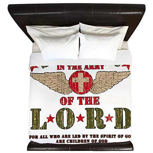 King Duvet Cover Soldier in the Army of the Lord by Royal Lion
